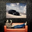 BMW 3 Series 335i Black Car Huge 47x35 Print Poster