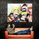 Minato Kakashi Obito Rin Anime Art Huge 47x35 Print Poster