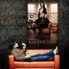 Elementary Cast Characters TV Series Huge 47x35 Print Poster