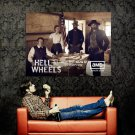 Hell On Wheels Cast Characters TV Series Huge 47x35 Print Poster
