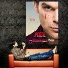 Dexter Michael C Hall TV Series Huge 47x35 Print Poster