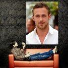 Ryan Gosling Movie Actor Huge 47x35 Print Poster
