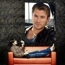 Chris Hemsworth Movie Actor Huge 47x35 Print Poster