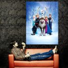 Frozen Characters Animation 2013 Huge 47x35 Print Poster