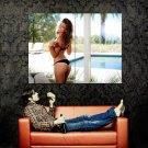 Amber Alexandria Sexy Butt Hot Model Huge 47x35 Print Poster