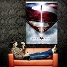 Man Of Steel Movie 2013 Huge 47x35 Print Poster