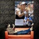 Martina Hingis Tennis Sport Huge 47x35 Print Poster