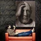 Pablo Picasso BW Portrait Painter Huge 47x35 Print Poster
