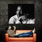 Martin Luther King Jr BW Portrait Huge 47x35 Print Poster