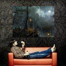 Tomb Raider 2013 Video Game Painting Art Huge 47x35 Print Poster