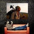 Survivorman Les Stroud Discovery TV Show Huge 47x35 Print Poster