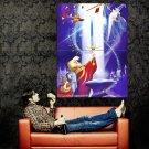 The Sword In The Stone Walt Disney Art Huge 47x35 Print Poster