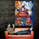 The AristoCats Walt Disney Art Huge 47x35 Print Poster