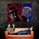 Alucard Vs Anderson Anime Art Huge 47x35 Print Poster