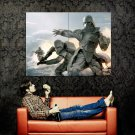 Snowtroopers Star Wars Hoth Battle Art Huge 47x35 Print Poster