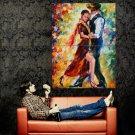 Leonid Afremov Dancers Painting Art Huge 47x35 Print Poster