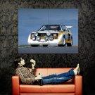 Audi Quattro Racing Retro Car Huge 47x35 Print Poster