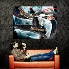 Bayonetta Video Game CG Art Huge 47x35 Print Poster