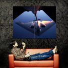 B2 Stealth Bomber Aircraft Huge 47x35 Print Poster
