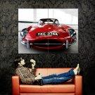 JAGUAR Car Shining Front Huge 47x35 Print Poster
