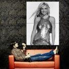 Britney Spears Hot Singer BW Music Huge 47x35 Print Poster