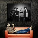 All Time Low Music Band BW Huge 47x35 Print Poster