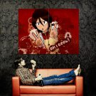 Rukia Kuchiki Bleach Anime Art Huge 47x35 Print Poster