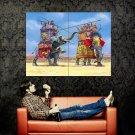 Ancient Carthage Elephant Battle Art Huge 47x35 Print Poster