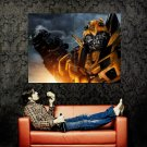 Bumblebee Transformers Movie Huge 47x35 Print Poster