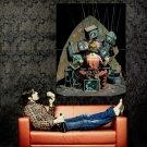 Joker DC Comic Art Batman Huge 47x35 Print Poster