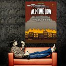 All Time Low Punk Band Music Art Huge 47x35 Print Poster
