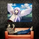 Wings Of Tenshi Angel Beats Anime Huge 47x35 Print Poster