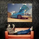 Chevrolet Impala Lowrider Car Huge 47x35 Print Poster