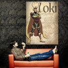 Loki God Lies And Mischief Art Huge 47x35 Print Poster
