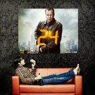 24 Jack Bauer TV Series Kiefer Sutherland Huge 47x35 Print Poster