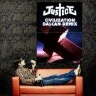 Justice Civilization Dalcan Remix Huge 47x35 Print Poster