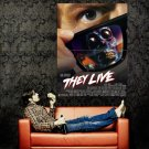 They Live John Carpenter Movie Huge 47x35 Print Poster