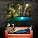 Xkeken Cenote Mexico National Geographic Huge 47x35 Print Poster