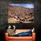 Tibetan Nun Colony National Geographic Huge 47x35 Print Poster