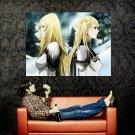 Claymore Kureimoa Manga Anime Art Huge 47x35 Print Poster