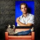 Paul Walker Hot Actor Huge 47x35 Print Poster
