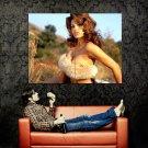 Eva Mendes Hot Actress Sexy Boobs Huge 47x35 Print Poster