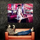 Coca Cola Retro Girl Advertising Cool Art Huge 47x35 Print Poster