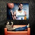 Andre Iguodala Denver Nuggets NBA Huge 47x35 Print Poster
