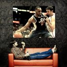 Al Jefferson Utah Jazz NBA Basketball Huge 47x35 Print Poster