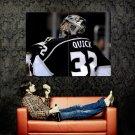 Jonathan Quick Los Angeles Kings NHL Huge 47x35 Print Poster