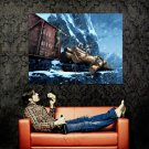 Uncharted 2 Firefight Video Game Art Huge 47x35 Print Poster