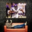 Adrian Peterson Minnesota Vikings NFL Sport Huge 47x35 Print Poster