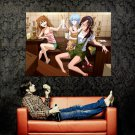 Anime Girls Drinking Cocktails Cheers Huge 47x35 Print Poster