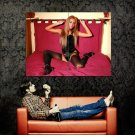 Veronika Fasterova Sexy Stocking Hot Model Huge 47x35 Print Poster